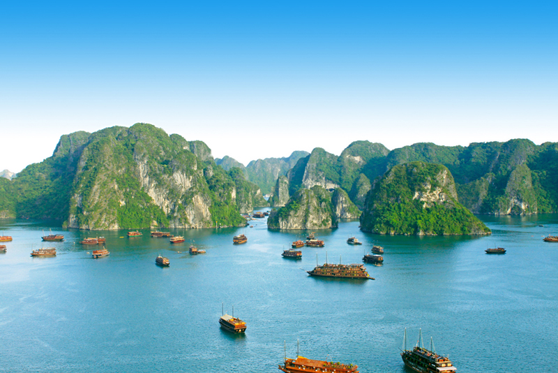 Ha Long Bay, a draw to more Japanese tourists