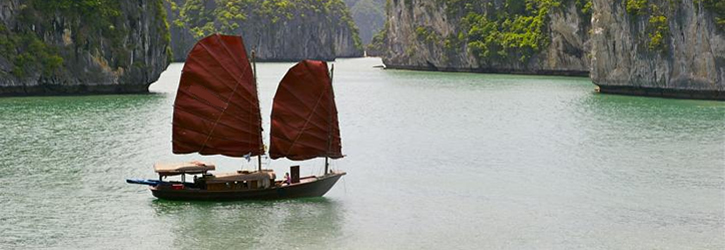 Cat ba Sailing boat, Cat Ba Sailing Junk