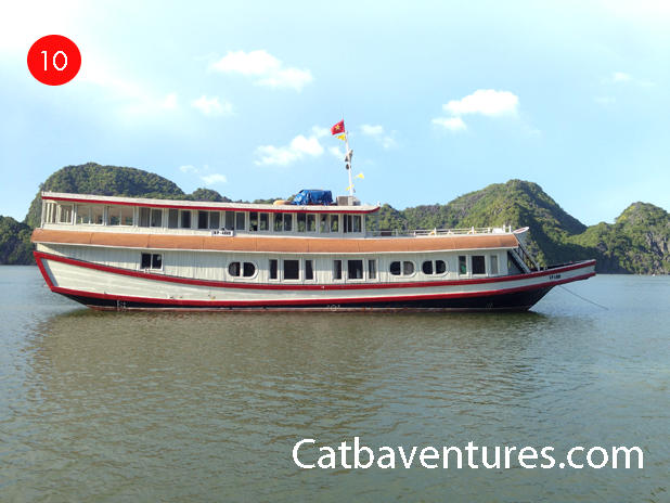 Cat ba tourist boat, Cat ba tourist 1
