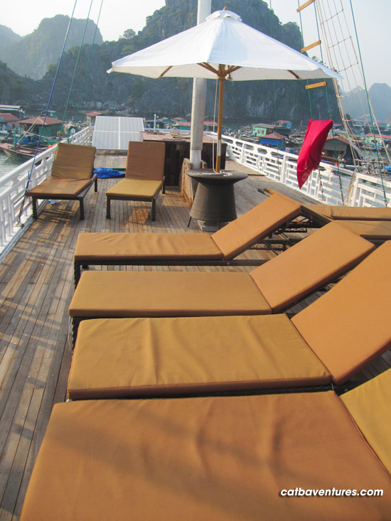 Halong bay Sailing, Sailing boat in Ha Long bay 4