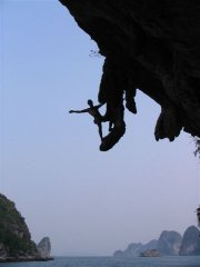 Rock Climbing In Ha Long Bay - 1