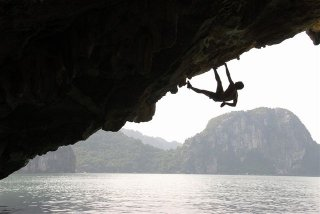 Rock Climbing In Ha Long Bay - 2