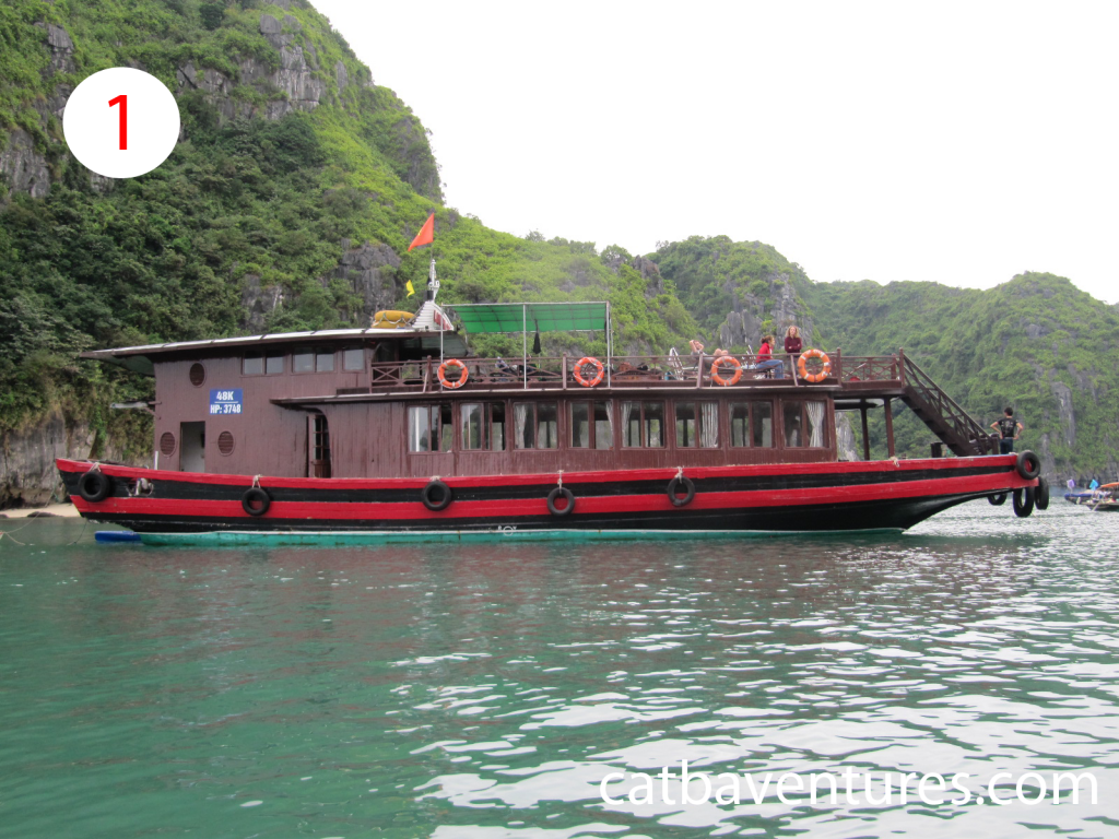Sailing Boat in Cat ba, Sailing in Cat ba -1